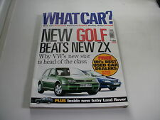 WHAT CAR ?   MAGAZINE   OCTOBER    1997    ENGLISH MONTHLY