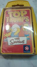 Die Simpsons. Quartett Top Trumps Karten Spiel