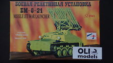 1/35 Russian BM-8-24 Katyusha Rocket Launcher on T-40 Tank Chassis - STC Start