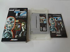 T2 the Arcade Game Nintendo Super Famicom Japan