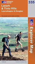 Lanark and Tinto Hills - OS Explorer Map 335 (NEW 2007 folded sheet map)