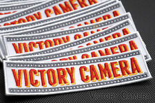 Victory Camera Iron On Patch -Yes- -Get it Free with $20 Purchase