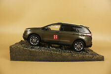 1/18 CHINA Ford EDGE SUV diecast model brown color
