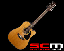 Takamine GD30CE-12 12 String Acoustic Electric Natural Cutaway Guitar Brand New