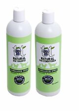 Pack 2 Sandalwood Spice Natural Dog Shampoo & Conditioner 16 oz duo