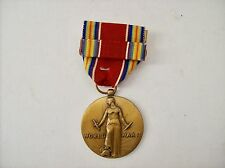 Victory Medal WW2 Four Freedoms Medal Coin With Ribbon USA 1941-1945 World War