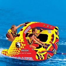 Sportsstuff Poparazzi 3 Rider Inflatable Tube Water Boat Towable - 53-1750