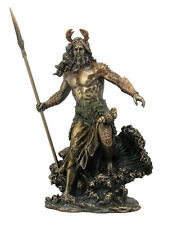 Oceanus - Titan God Ruler Of The Oceans Statue Sculpture Figurine Bronze Finish