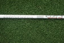"NEW UNCUT MATRIX OZIK XCON 6X3 WHITE TIE REGULAR FLEX DRIVER SHAFT 46"" .335"