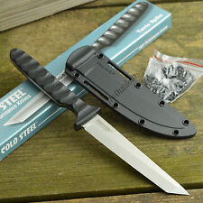 Cold Steel Tanto Spike Fixed Blade Neck Knife Secure-Ex Sheath 53NCT