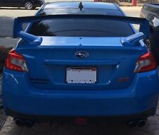 2011-2014/ 2015-2016 Subaru WRX STI Sedan Gurney Flap rear spoiler lip (PU)