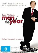 Man Of The Year  DVD ROBIN WILLIAMS BRAND NEW SEALED Region 4 FREE POSTAGE