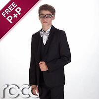 Boys dinner suit, Boys tuxedo, Boys black suit, Boys wedding suit, Page boy suit