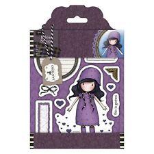RAINY DAZE-Docrafts Santoro Gorjuss Rubber Stamp-Stamping Craft-Tweed Girls