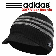 "Adidas ClimaWarm Lightweight Visor Beanie Mens Golf  Sport Winter Hat ""New 2017"""