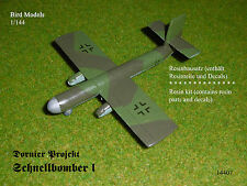 Dornier Projekt Schnellbomber I    1/144 Bird Models Resinbausatz / resin kit