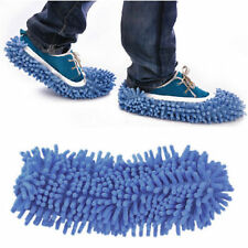 1pcs Dust Floor Cleaning Shoes Mop Bathroom Kitchen House Clean Polishing Foot