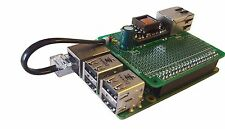 Raspberry Pi B+ & Pi 2 compatible PoE (Power over Ethernet) Board with Prototype