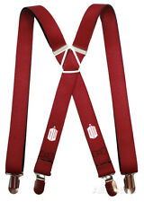 Doctor Who - Tardis Burgundy Suspenders Novelty - 1x70