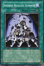 3x Yugioh SDMM-EN027 Inferno Reckless Summon Common Card