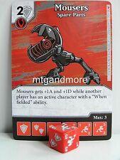 Dice Masters - #032 Mousers Spare Parts - Teenage Mutant Ninja Turtles