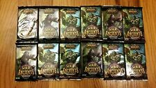 (12) *NEW* World of Warcraft TCG:  War of the Ancients Booster Packs