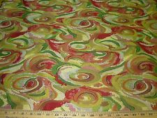 """~20 YDS~""""NOLAN"""" MODERN RETRO EAMES ERA~EMBROIDERED UPHOLSTERY FABRIC FOR LESS~"""
