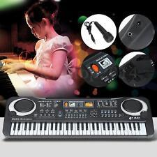 61 Teclas Teclado Musical Keyboard Piano Eléctrico Sonido Juguete Órgano Regalo