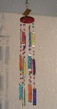 Mobile of Glass Wind chime Sun Catcher Themed glass Living room Hallway/Hallway
