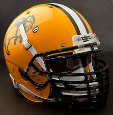 *CUSTOM* NORTH DAKOTA STATE BISON Schutt XP AUTHENTIC Football Helmet BIG GRILL