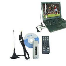 New USB 2.0 Digital DVB-T HDTV TV Stick Tuner Recorder Receiver w/ Remote for PC