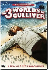 The 3 Three Worlds of Gulliver (DVD, 2002) - NEW!!