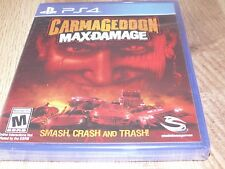 Carmageddon: Max Damage (Sony PlayStation 4, 2016) Brand New!!!!
