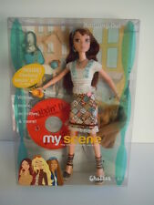 2003 Mattel Barbie My Scene Cafe Hanging Out Chelsea Doll With Mixin' It CD NIB