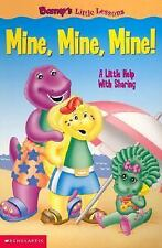 Barney's Little Lessons: Mine, Mine, Mine! Berk, Sheryl Board book