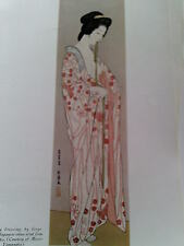 Original Print Lady Dressing By Goyo Japanesse Art Studio Magazine 1932