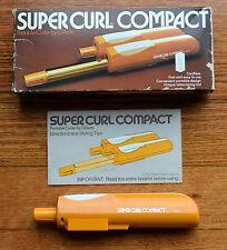 Vintage Super Curl Compact - Portable Curler by Gillette 1976