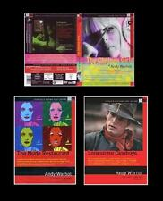 Andy Warhol - 3 Film - 4 Dvd Come Nuovi