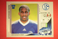 PANINI CHAMPIONS LEAGUE 2012/13 N. 116 FARFAN SCHALKE 04 BLACK BACK MINT!