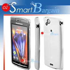 WHITE Soft Gel Case For SONY ERICSSON XPERIA ARC X12
