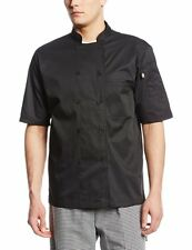 Dickies Chef Cool Breeze Chef Coat Short Sleeve W/ Mesh Chef Jacket Unisex DC105