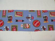 """Coca Cola fabric 15+"""" wide - by the yard - as much as you want - free shipping"""