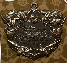DISNEY PIRATES OF THE CARIBBEAN LOGO PIN 2015 NEW RELEASE