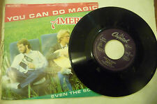"AMERICA"" YOU CAN DO MAGIC-disco 45 giri CAPITOL Ger 1982"" NUOVO"