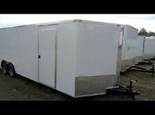 Car hauler 8.5x20 FOOT v nose, ENCLOSED TRAILER SPECIAL OPTION INFO