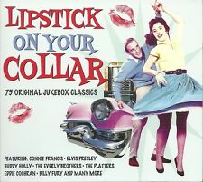 LIPSTICK ON YOUR COLLAR 75 ORIGINAL JUKEBOX CLASSICS - 3 CD BOX SET