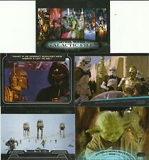 2013 Topps Star Wars Galactic Files Series 2 Mini Master Set 350 + 4 Insert Sets