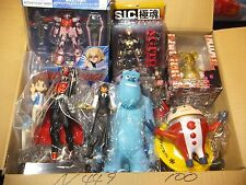 WHOLESALE GREAT LOT 100 Anime Mini figure Official Japan N449 Xmas gift