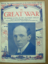 THE GREAT WAR 1914-18 PART 83 MARCH 18th 1916 CLASH OF INTERESTS IN THE USA