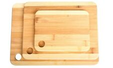 NEW Wexley Home Bamboo Cutting Boards - Set of 3